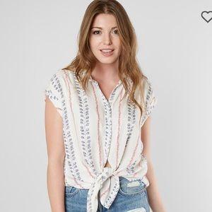 "WHITE CROW ""Myrtle Button-Down Shirt"""
